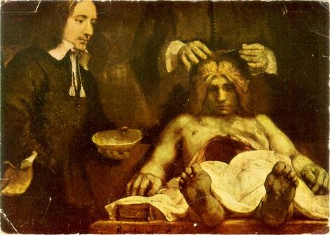 Historia de la medicina: La lección de anatomía del doctor Tulp ...